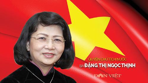 Tiểu sử quyền Chủ tịch nước Đặng Thị Ngọc Thịnh